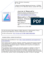 Bisexuality in Psychoanalytic Theory