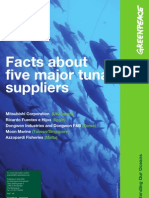 Facts About 5 Major Tuna Suppl