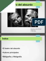 El teatro del absurdo-Mauricio Loaiza Rincón .ppt