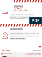 Prévisions trafic SNCF jeudi 7 juin 2018