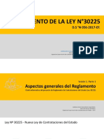 Reglamento de La Ley de Contrataciones Del Estado - 2017 Diapositivas