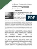 Plan de Acompañamiento Pedagogico Español Tercero