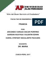 Monografia Francia 2