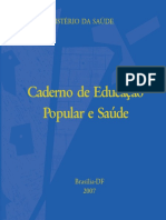 Caderno Educacao Popular Saude p1