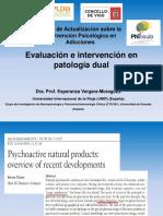 Evaluación e intervención en patología dual