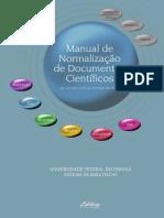 UFPR Manual Normalizacao Documentos Cientificos 2017