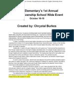 toy 2017-2018 davis elementary chrystal burkes artifact 1 digital citizenship week  1