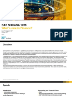 s 4 Hana Finance Scale New Heights With an Intelligent Digital Core the 1709 Release of Sap s 4hana