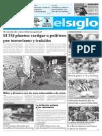Edición Impresa El Siglo 11-06-2018