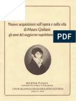 Nuove acquisizioni sull'opera e sulla vita di Mauro Giuliani