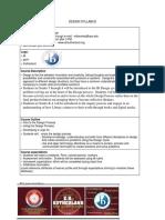 Design Syllabus