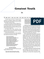 The Gratest Youth in the Old Testament