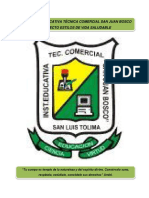Proyecto Estilos de Vida Saludable I.E.T.C. San Juan Bosco