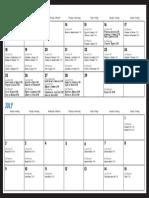 WorldCup Calendar KALI
