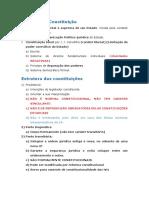 Aula 0 - CF -Princípios Fundamentais. Aplicabilidade Das Normas Constitucionais. Normas de Eficácia Plena, Contida e Limitada. Normas Programáticas