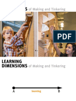 Learning Dimensions of Making & Tinkering