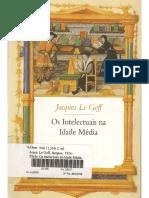 LE GOFF, Jacques. Os intelectuais na Idade Média.pdf