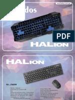 Catalogo Teclado Halion