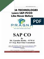 advanced controlling configuraton materail by Upendar Reddy ICWAI