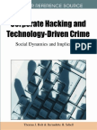 Corporate Hacking and Technology Driven Crime Social Dynamics and Implications Copy