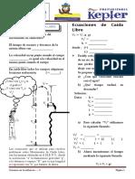 Caida Libre y Rm Metodo Indcutivo Prac 04