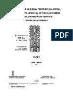 2012 Patologia de Audicion