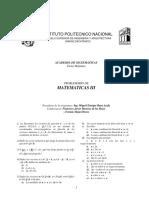 Problemario de Matematicas III 2