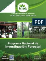 Programa Nacional Investigacion Forestal Inab