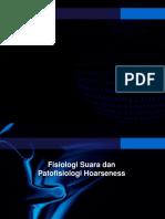 Fisiologi Suara Dr D0ny