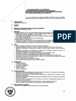 Convocatoria CAS 133-2018