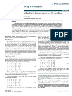 Performing Spiking and Predictive Deconvolution on 2d Land Data Pstm