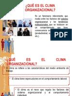 Clima Organizacional Revisado 2018