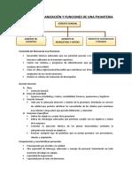 Manual de Organización y Fiunciones de Una Picanteria