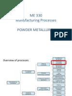 Module 6 - Powder Metallurgy New Semi Notes