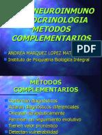 Metodos Complementarios en Psiquiatria