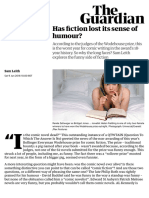 Has fiction lost its sense of humour? | Books | The Guardian