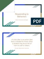 behavior interventions and restrictive procedures  2