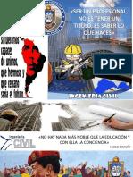 Afiches Ing Civil Barinas
