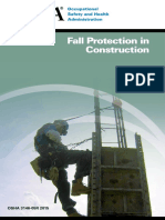 OSHA 3146-05R 2015 Fall Protection in Construction
