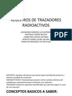Registros de Trazadores Radioactivos