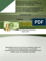 Presentacion Cuentas Por Cobrar VIP CATERING GOURMET
