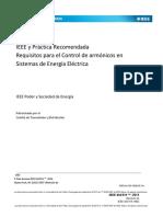 IEE Std 519 2014.en.español