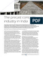 Journal on Indian Precast Industry
