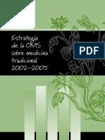 Estrategia de la OMS sobre medicina tradicional 2002–2005