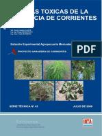Plantas tóxicas de la Provincia de Corrientes