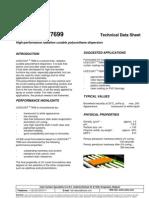 TDS UCECOAT 7699