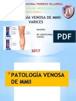 VARICES DE MIEMBROS INFERIORES