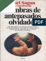 Sombras de Antepasados Olvidados - Carl Sagan y Ann Druyan (1993)