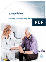 Spasticitatea Pentru Pacienti