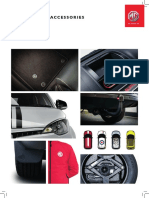 Mg Accessories Brochure With Price List A4